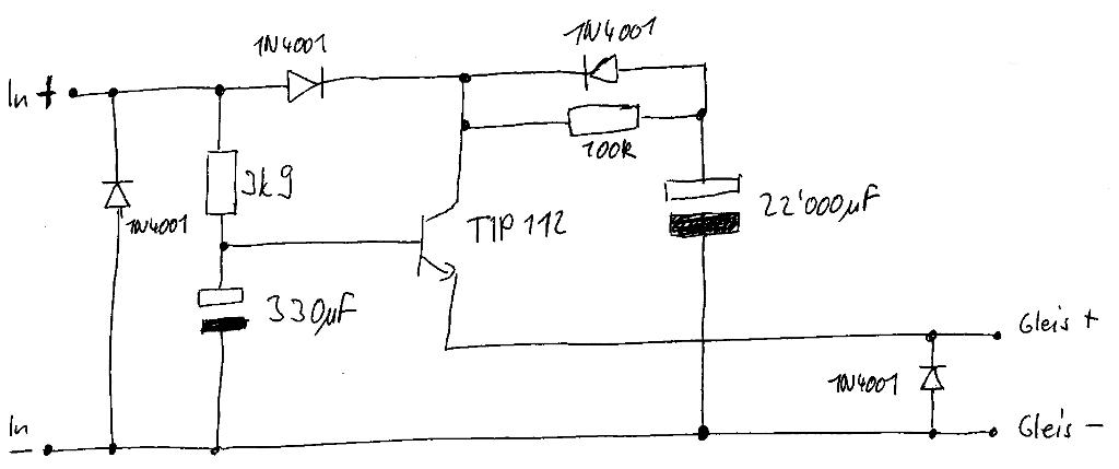 Gleichstrom - hallo brauche Hilfe :-(((( | Modellbahnforum.CH